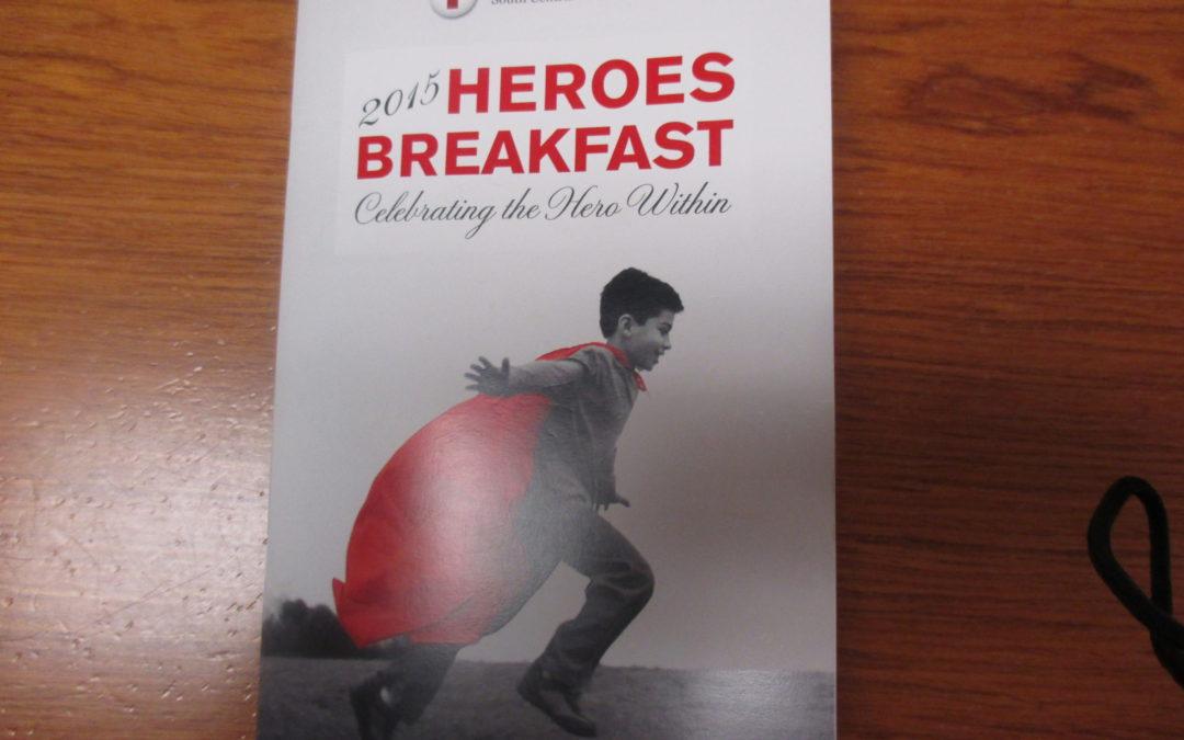 Red Cross Heroes Breakfast