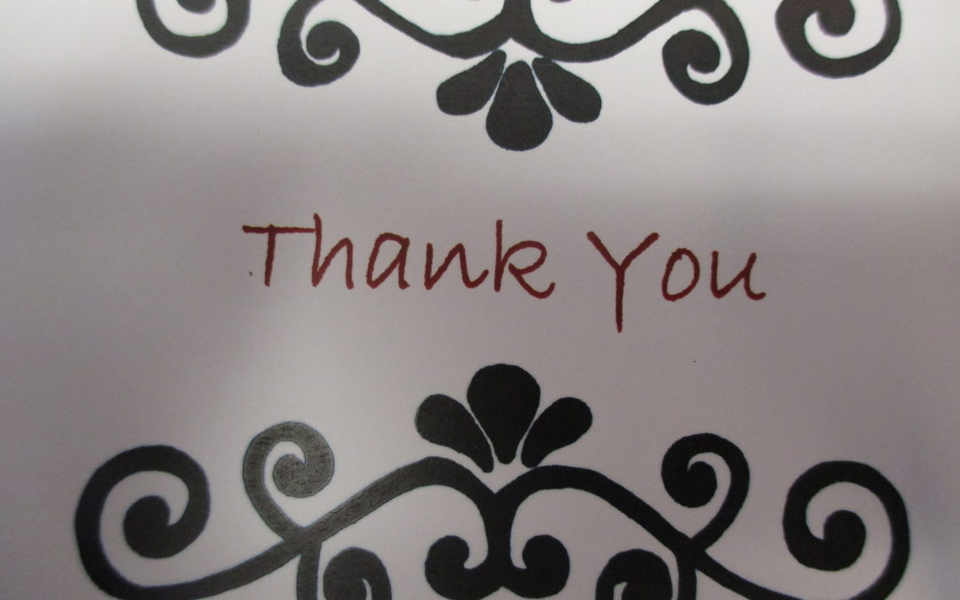 Friday Thank You Notes