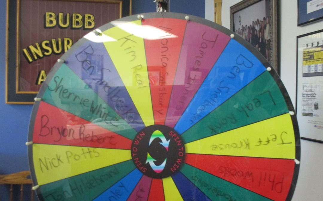 Referral Wheel Spin