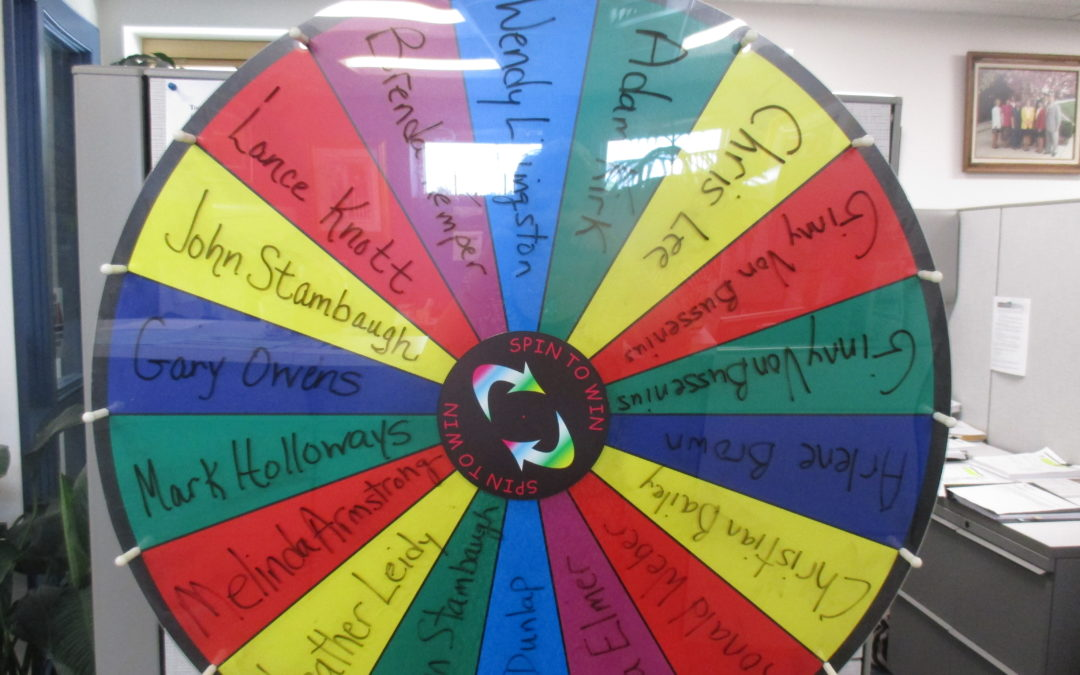 Referral Wheel Winner 06.29.17