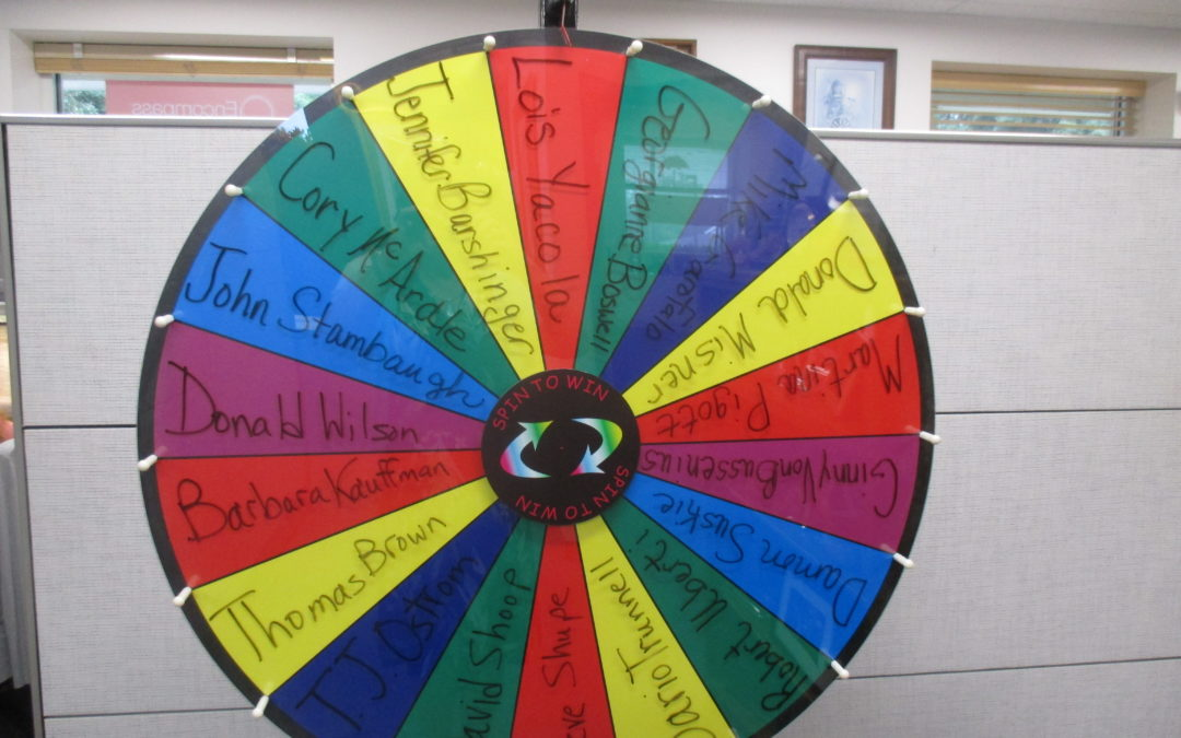 Referral Wheel Spin 09.18.17