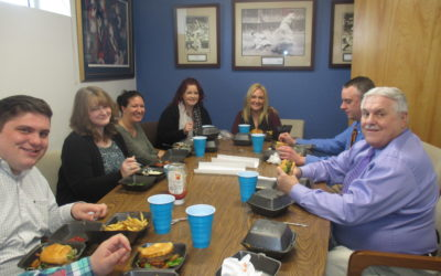 Allstate Lunch with Jaime Tucker