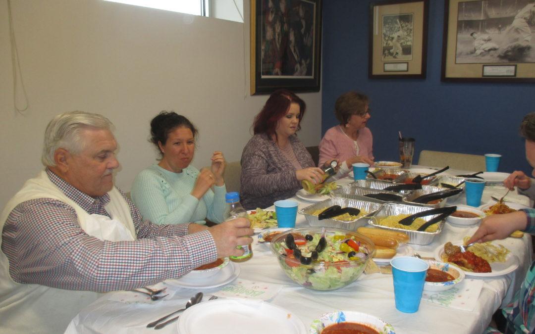 Happy Staff Appreciation Luncheon