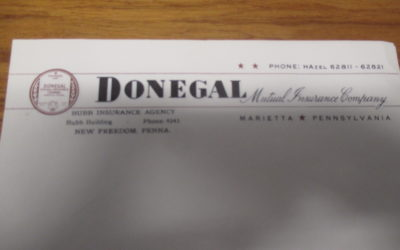 What You Find…..Donegal & Bubb Letterhead