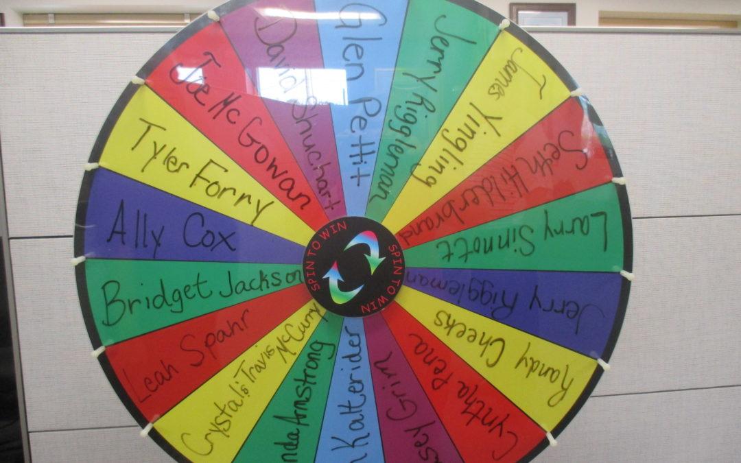 Referral Wheel Winner 08.15.18
