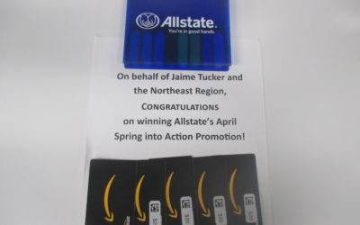 Allstate's April Spring into Action Promo