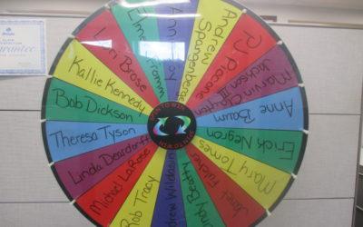 Referral Wheel Spin