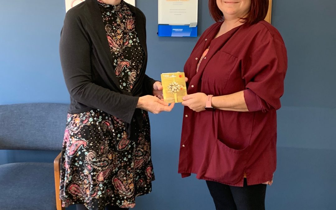 Referral Winner, Amanda Seiffert