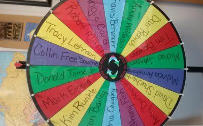 Wheels Wednesday Referral Wheel