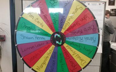 Barb Kinley, Referral Wheel Winner 01.10.20