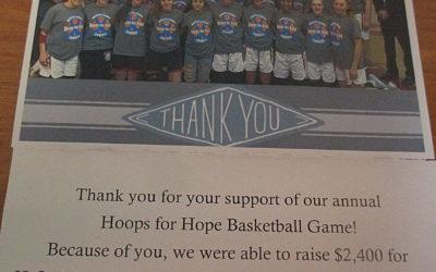 Hoops for H.O.P.E Fundraiser