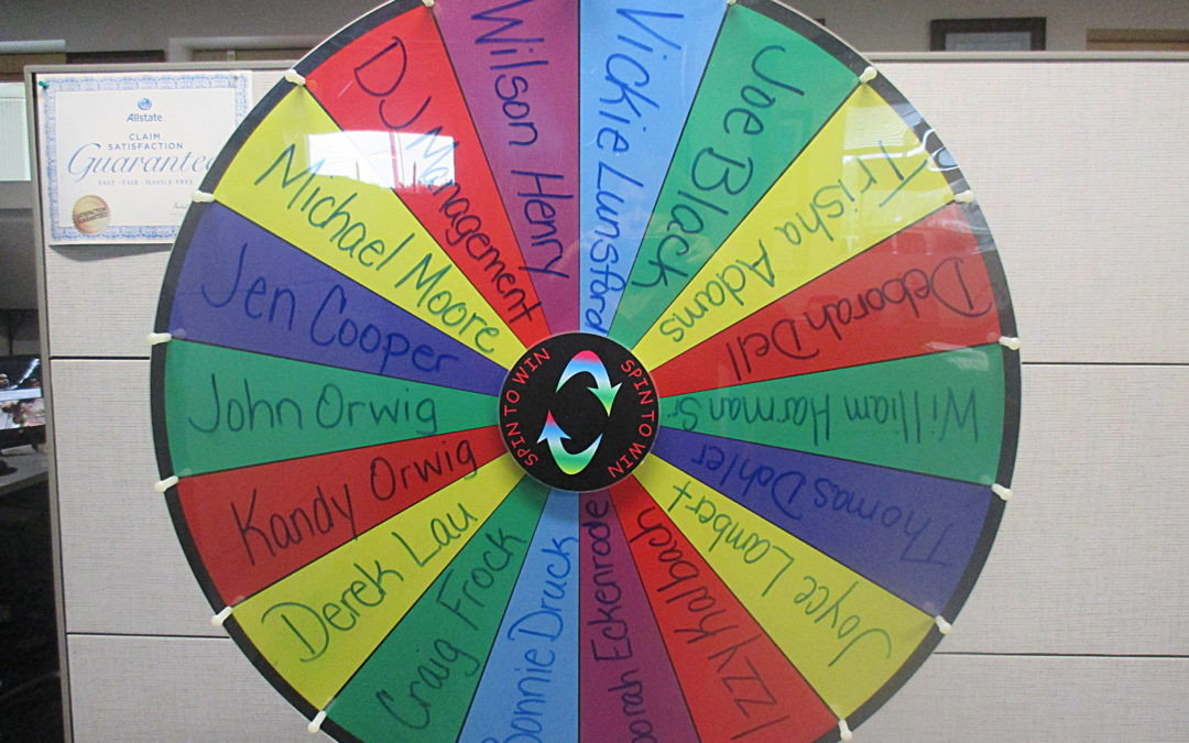 Bubb Stimulus Referral Wheel