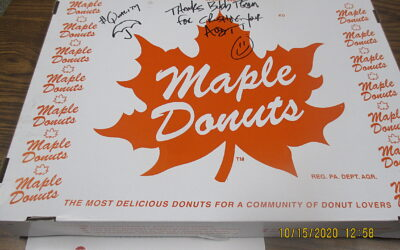 Travelers & Maple Donuts