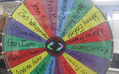 Chris Koutek, Referral Wheel Winner